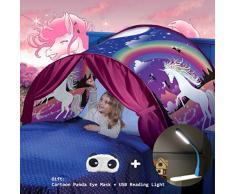 Tende da sogno, Magical World Tents, Kids Fantasia Casa, Caldo bambini Tenda (Einhorn)