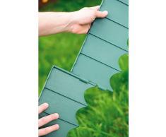 Prosperplast IKRR-G851 - Recinzione da giardino, colori assortiti (marrone, terracotta, verde), 595 x 16 cm, (12 pezzi)