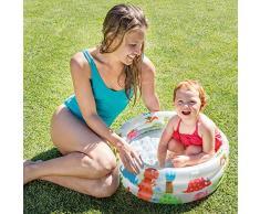 Intex 57106 - Piscina Baby Pool 3 Anelli, 61 x 22 cm