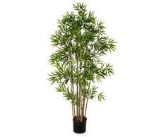 artplants.de bambù Artificiale, 480 Foglie, 80cm - Albero di bambù/Pianta Ornamentale