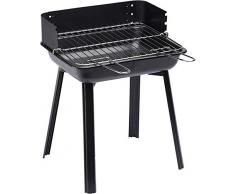 LANDMANN 11527 Grill Firewood Black barbecue - barbecues & grills (Grill, Firewood, 4 person(s), Grate, Black, Rectangular)