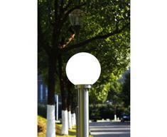 vidaXL Lampione da Giardino Moderno Vialetto Luce Lanterna Lampada da Esterno