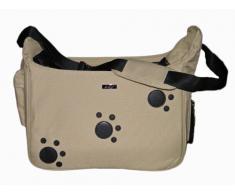 Doogy zampa morbida borsa da trasporto per cani in beige
