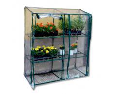 Telo di ricambio serra 647/59 PVC rettangolare trasparente piante balcone 647/60