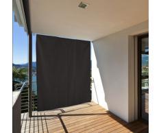 Garden at Home 301050107-HE - Tenda da sole per balcone, 130 x 240 cm, colore: grigio antracite
