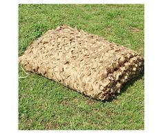 Rete Ombreggiante per Giardino, 3x5m 8m 10m Rete Mimetica Camouflage Net Deserto Ombrellone Vele Tende da Sole Tendalini Rete Solare per Balcone Terrazza Tettoia Protezione Giardino Pianta 4m 5m 6m 7m