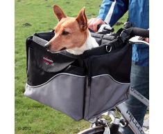 Cestino da bicicletta per cani e animali domestici per manubrio anteriore, tracolla robusta e stabile