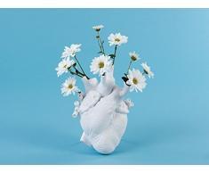 SELETTI Vaso Love In Bloom Bianco
