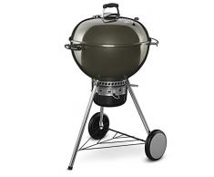 Weber 14510004 - Barbecue a carbone con coperchio, 57 cm