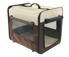 Ferplast 85721099 Holiday 2 Cuccia Trasportino per Cani, Lunghezza 46 cm, Profondità 36 cm, Altezza 41 cm