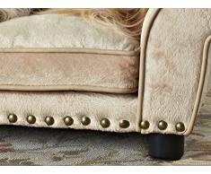 Divano per cani, letto per cani, cesta per cani, cuscino Dream Catcher 74 x 42 x 28 cm. superficie della sede: 48 x 28 x 8 cm. cuscino: 30 x 10 cm
