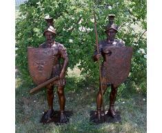 Guardiano - romani Guerriero/gladiatori/Römer sculture - Bertel Thorvaldsen - sculture in vendita - giardino Scultura in bronzo