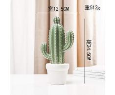 60 centimetri tropicale Cactus Grande Falso albero artificiale piante grasse Schiuma Deserto Spina delle piante Indoor Plant for la decorazione domestica del partito Simulazione piante di deserto