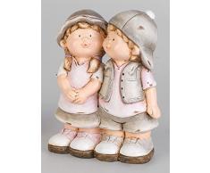 Formano Nano da giardino Figura figura decorativa Willi e Wilhelmine in piedi, 18 cm