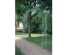 Zincato caldo Grande Arco di rose fatta solido 10 mm Acciaio, Fatto mano