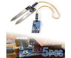 XCSOURCE 5X suolo umidità igrometro di umidità rilevazione del sensore di acqua modulo Arduino Wire TE215
