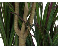 Dracena artificiale a 3 tronchi, base cementata, 180 cm - Albero del drago / Pianta artificiale - artplants