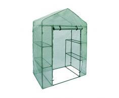 Home-APP ALEKO® gh56 X 29 X 77 Passeggiata nel Giardino Piante Serra 4 ripiani Shed 142,2 x 73,7 x 195,6 cm