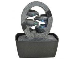 Zen'Light 06D CASCADE - Fontana a cascata per interni, con illuminazione LED cangiante, 1pz.