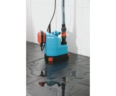 Gardena 1780-20 Classic 7000 Pompa Sommersa per Acqua Pulita da 7000 L/H, Interruttore Flottante, Versatile per lUso sia Interno che Esterno