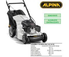 Tagliaerba con motore a scoppio max taglio cm 80 tosaerba Alpina AL3 46 SH