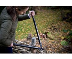 Fiskars Troncarami a incudine SingleStep per legno secco e duro, Rivestimento antiaderente, Acciaio di precisione temprato, Lunghezza: 82 cm, Nero, L39, 1001430