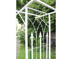 Arco per rose rankier Telaio di sostegno Rose struttura arco da giardino arco bianco