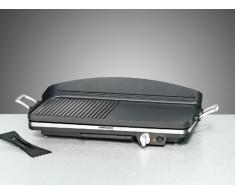 Rommelsbacher BBQ 2002 1900W Black barbecue - Barbecues & Grills (1900 W, 230V, Black, 500 x 250 mm, Ready, 650 mm)