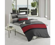 Bierbaum, Biancheria da letto in raso, Multicolore