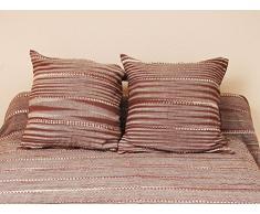 Fodera per cuscino 40 x 40 cm ODILE cioccolato