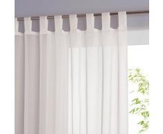 La Redoute Interieurs Tenda Con Finitura A Patte, Limpo Taglia 240 Bianco