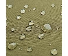 Breaker Teflon - tessuto in poliestere con un rivestimento acrilico - stoffa al metro (kaki)