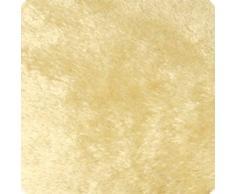 Beautissu® Soffice coperta effetto cashmere Sophia 150x200 cm - crema - plaid XXL super morbido in microfibra
