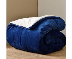 Coperta in cashmere faux/ spesse coperte matrimoniali/ inverno coperte/ Corallo tappeto/ coperta/ flanella coperta/ double coperte-N 180*220cm(71x87inch)