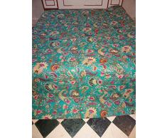 floreale ricamato per letto uzbeko Suzani copriletto vintage doppio tessuto Quilt Etnico Turchia medio oriente decorativo da parete coperta Boho interno ricamo da appendere alla parete