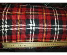 Such Textiles Royal Stewart - Stoffa scozzese Tartan, vendita al metro