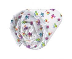 CTI 043665 Trolls True Colors - Lenzuolo Cotone Rosa 90 x 190 cm