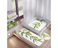 Kleine Wolke 5380600001 - Tappetino vasca da bagno Bambù 36 x 92 cm, colore: Verde