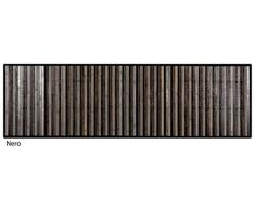 CASA TESSILE Bamboo SFUMATO Tappeto corsia Multiuso - Nero, 55x240 cm.