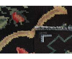 Kelim Rosen Tappeto Tappeto Orientale 220x154 cm Tessuti a Mano Classic