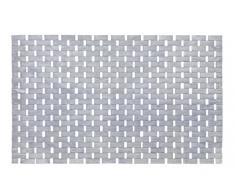 Wenko Tappeto da bagno, in bambù, 54,5 x 12 x 7 cm, Bambù, grigio, 54.5 x 12.0 x 7.0 cm