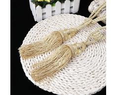 lunji embrasse tenda corda – Gland nobile – Decorazione della Casa (Golden) giallo