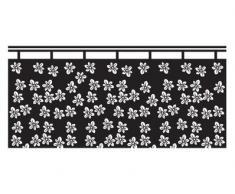 WTD Mantiburi n. UL7 - Protezione Contro Gli sguardi indiscreti, Motivo: Tendina con Fiorellini I, Rosa - 758 Romantic Rose, 97 x 45 cm