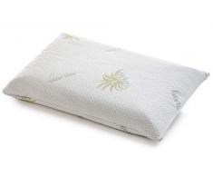 venixsoft Coppia Fodere Aloe per Cuscino, Memory Foam, Lattice e Fibra