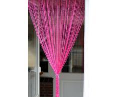 1001 Wohntraum F07 - Tenda a fili, 100 x 200 cm, colore: Rosa
