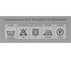 CASA TESSILE Antimacchia copripoltrona 1 posto da 75 a 110 cm. - BEIGE
