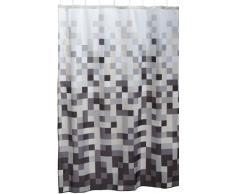 Sealskin Pixel Tenda da Doccia, Poliestere, Nero, 180 x 200 cm