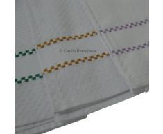 Strofinacci da cucina asciugapiatti 6 pezzi spugna 100 puro cotone 50x70 H296