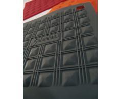 silikomart Miss Hot Presina, Materiale Sintetico, Rosso, 17.5x17.5x1.3 cm