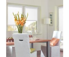 Gardinia Tenda a rullo con morsetto di fissaggio o adesiva avvolgibile, Per luce diurna, Opaca, Kit di montaggio incluso EASYFIX Bianco, (LxA) 45 x 150 cm